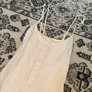 Cloth&stone simple baby pink tank